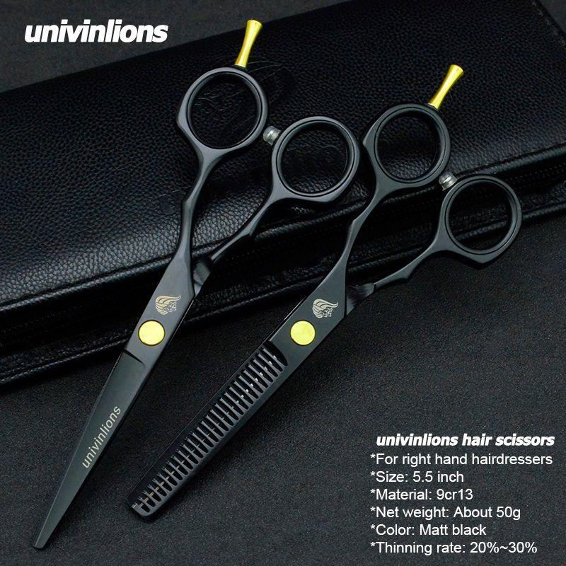 5.5 vente noir japon cheveux ciseaux téflon ciseaux pas cher coiffure ciseaux coiffeur amincissement ciseaux coiffeur rasoir coupe de cheveux