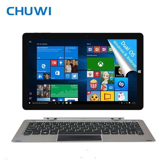 CHUWI Hi12 Tablet PC Intel Atom Z8350 12 Inch Windows10 Android 5.1 Dual OS 4GB RAM 64GB ROM Bluetooth 4.0 WiDi Wireless Display