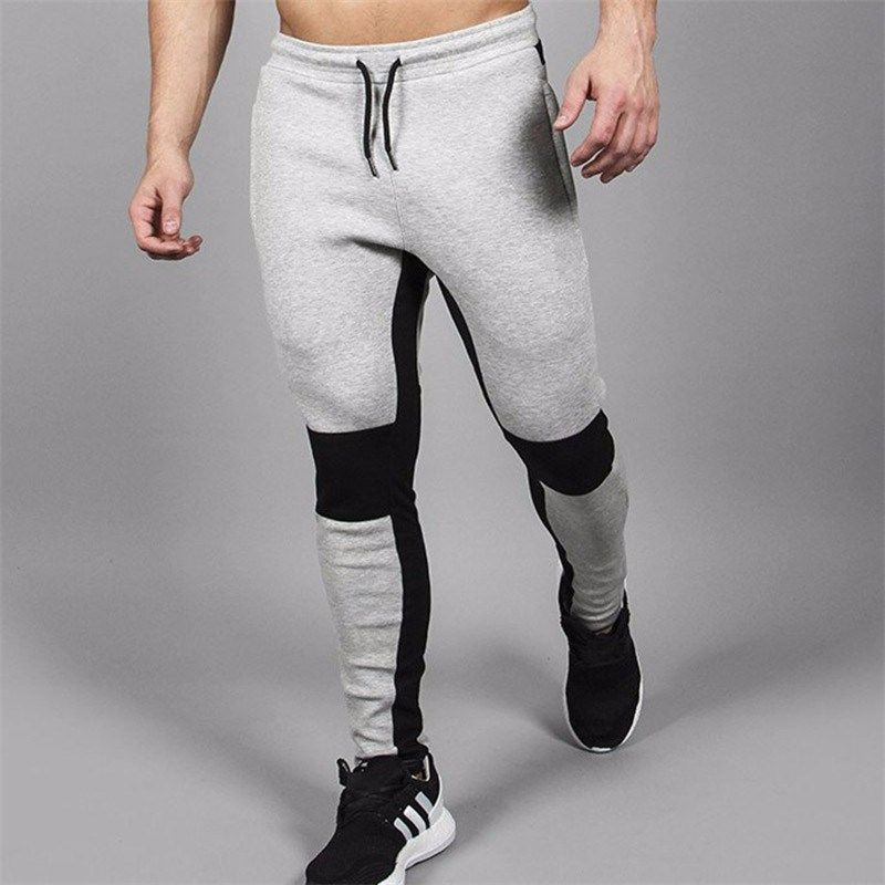 2018 Energy <font><b>Boost</b></font> GymS Pants Brand Cotton Pants Men Joggers For Man Brand Clothing Fashion Style Tactical Pants