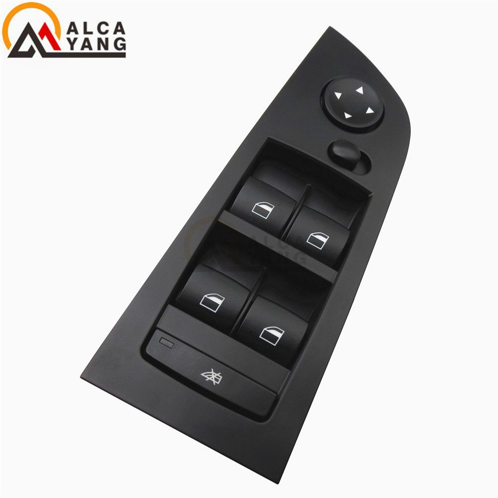 Black or Beige Panel Window Mirror Master Control Switch Unit For BMW E90 LCI 318i 320i 325i 335i 330i 2004 2005 2006 2007 2008