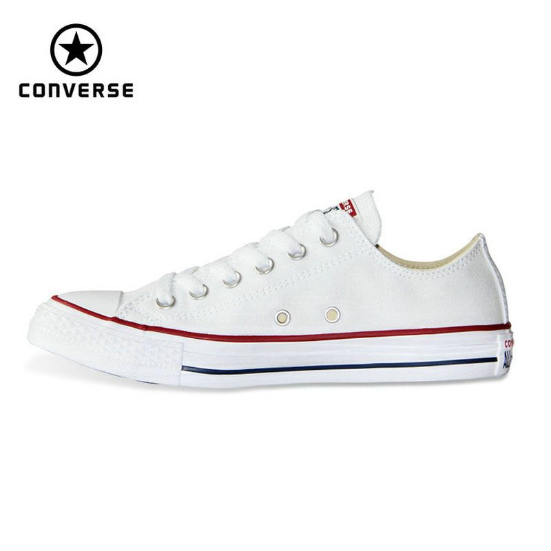 new Original Converse all star canvas man and women low classic sneakers Skateboarding Shoes black color free shipping 101000