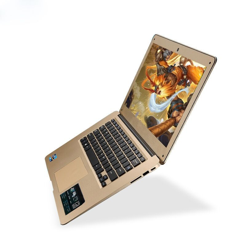 1920X1080P FHD Screen 8GB RAM+64GB SSD+500GB HDD Windows10 Ultrathin Quad Core Fast Running Laptop Netbook Notebook Computer