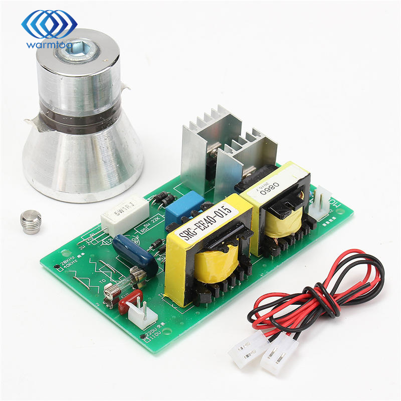 High performance 100W 28KHz Ultrasonic Cleaning Transducer Cleaner +Power Driver Board 220VAC Ultrasonic Cleaner Parts