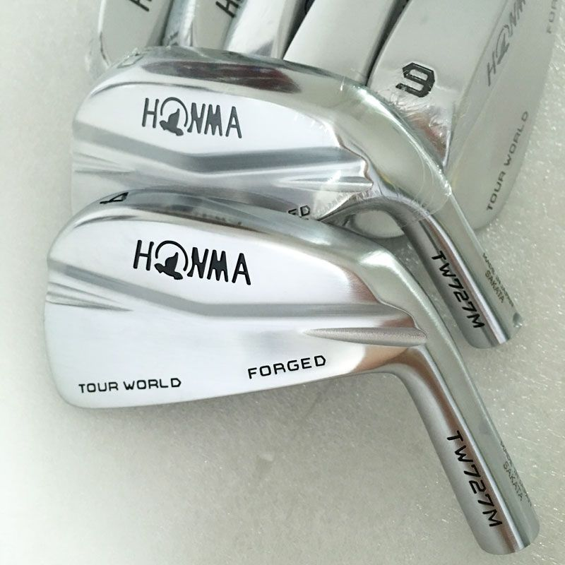 New Cooyute irons Golf heads HONMA TW727M Clubs Golf irons heads set 4-10 clubs head No Golf shaft Free shipping