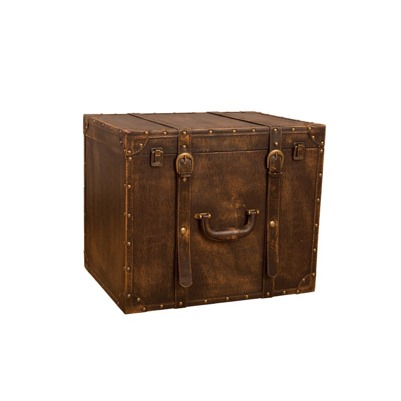 Vintage Suitcase Suit Box Clothes Storage Cosmetics Jewelry Box Luggage Case Decoration Vintage Photography Props Window Display