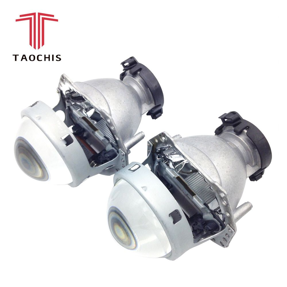 TAOCHIS <font><b>2pcs</b></font> Auto Car Headlight 3.0 inch Bi-xenon Hella 3R G5 5 Projector lens Car styling Retrofit head light Modify D2s