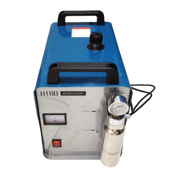 300W Portable Oxygen Hydrogen Flame Generator Acrylic Polishing Machine, 95L 1 Gas Torch free