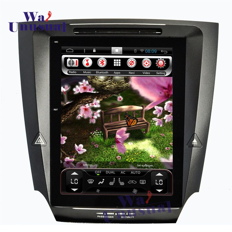 WANUSUAL 10.4 Inch Vertical Screen Android 6.0 Car GPS Navigation For LEXUS IS250 IS300 IS350 2005 2006 2007 2008 2009 2010 2011