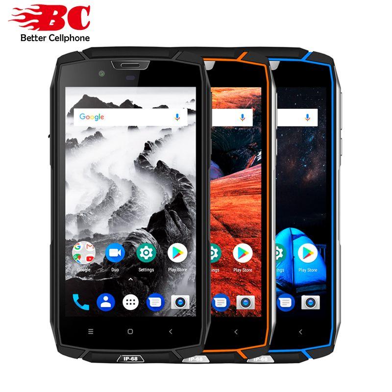 Globale Vkworld VK7000 Dual SIM FDD 4 gb + 64 gb Android 8.0 MTK6750T Octa Core 2 Zurück Kameras 5600 mah 5,2 zoll Wasserdichte Smartphone