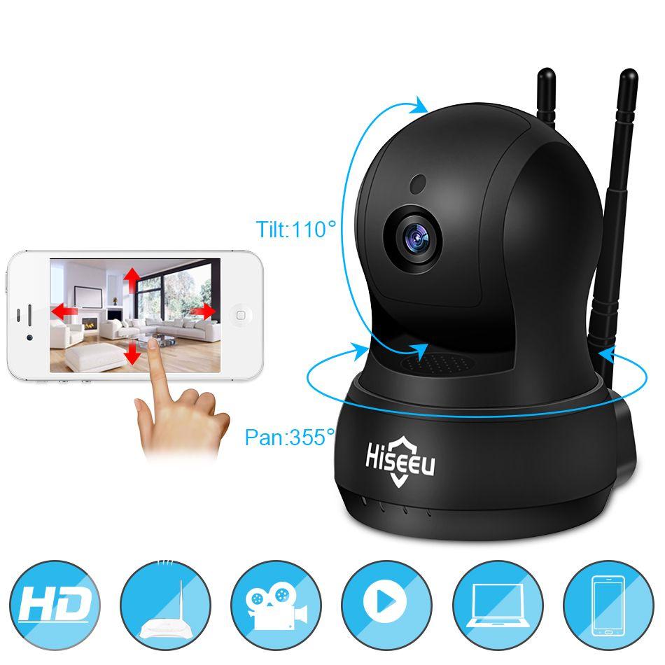 IP Камера Wi-Fi Беспроводной сети Камера Wi-Fi HD Запись карты памяти безопасности CCTV Камера Ночное видение Defender 720 P H.264 hiseeu fh5