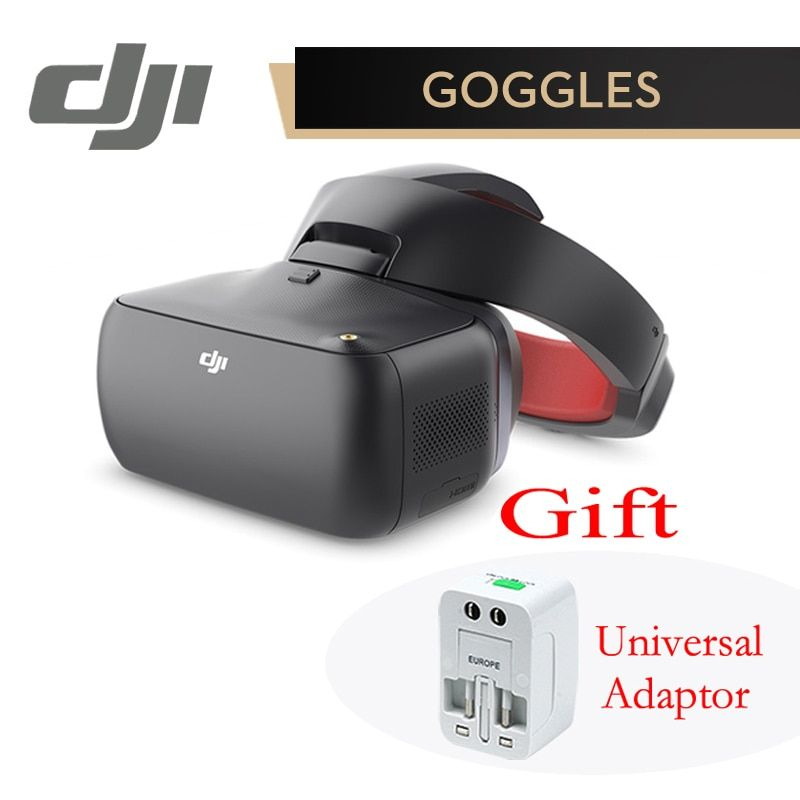 DJI Google Goggles RE Racing Edition Upgraded FPV HD VR Glasses for DJI Spark Mavic Pro Phantom 4 Pro Inspire 2 Drone Racing