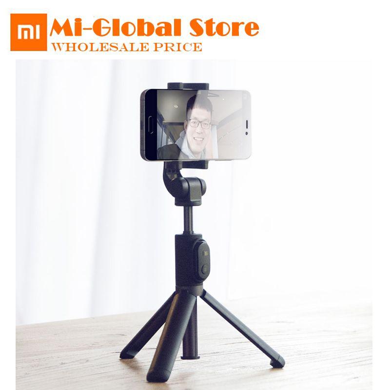 Xiaomi Handheld Foldable Tripod Monopod Selfie Stick Mini Tripod 3 in 1 Self-portrait Bluetooth Wireless Remote Shutter
