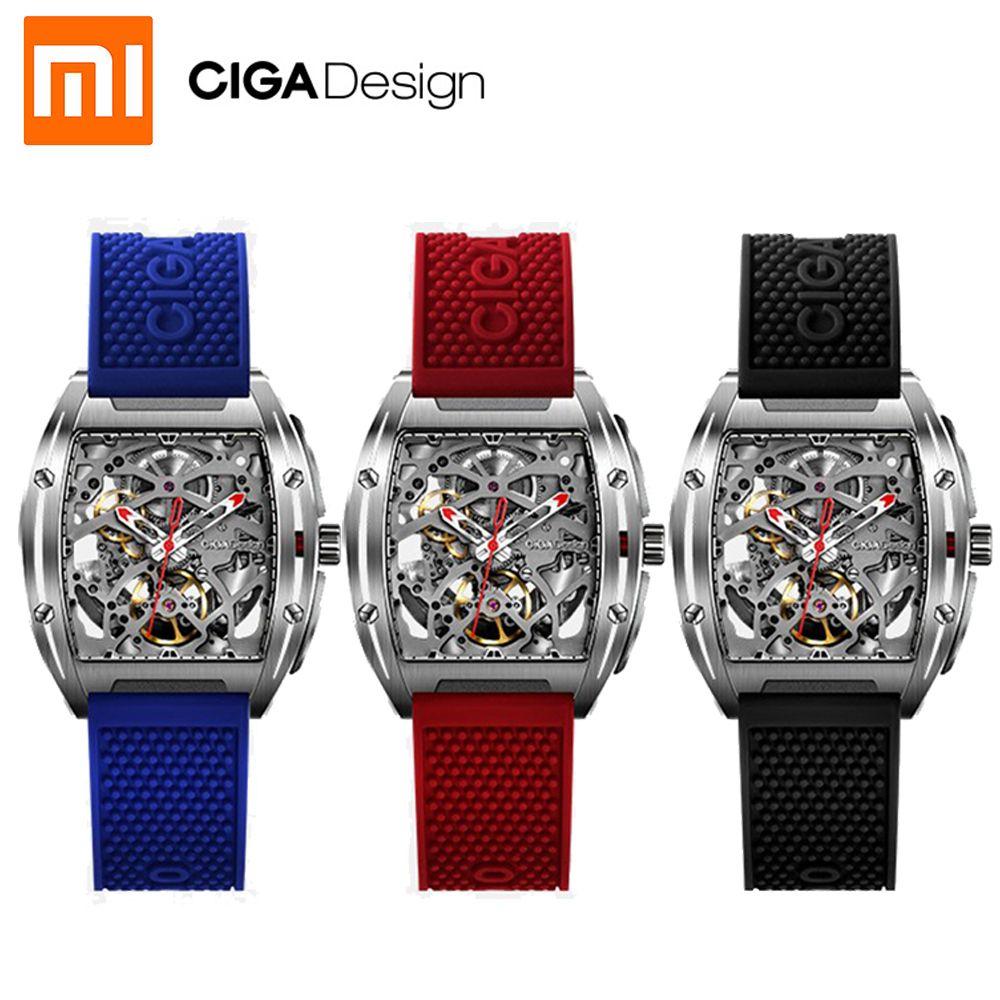 Für Xiaomi youpin CIGA Design Z Serie männer smart watch uhr Automatische Mechanische Uhr Selbst wind Armbanduhren smartwatch NEUE