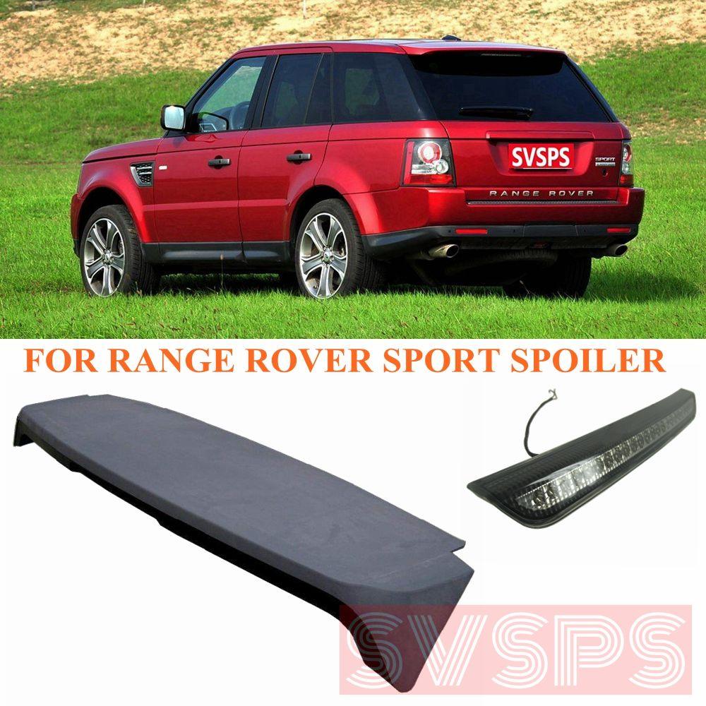 Hohe qualität Tuning Hinten Schwanz Dach autobiographie Spoiler ABS SVSPS Auto Teile Für Land Rover Für Range Rover Sport 2005-2013year