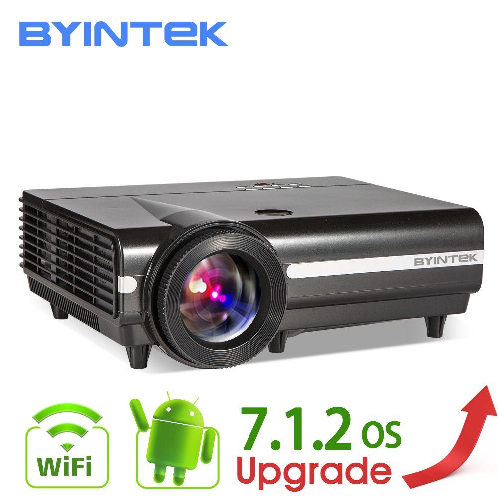 BYINTEK MOND BT96Plus Hologramm 200 zoll LED Video HD Projektor für Heimkino Full HD 1080 P (Optional Android 6.0 unterstützung 4 K)