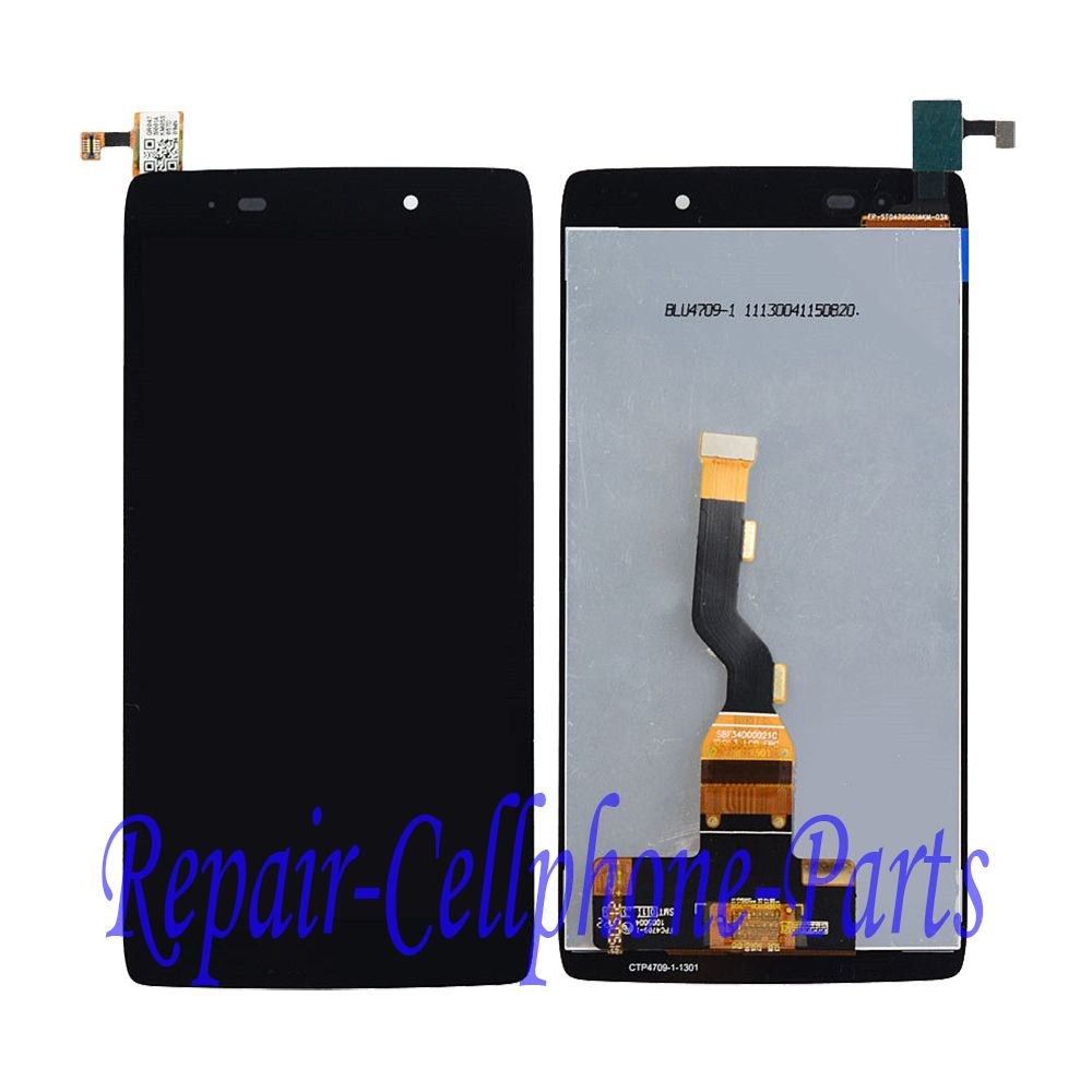 Black Full LCD display + Touch screen digitizer assembly For Alcatel One Touch Idol 3 4.7 LTE 6039 6039A 6039K 6039Y 6039J 6039S