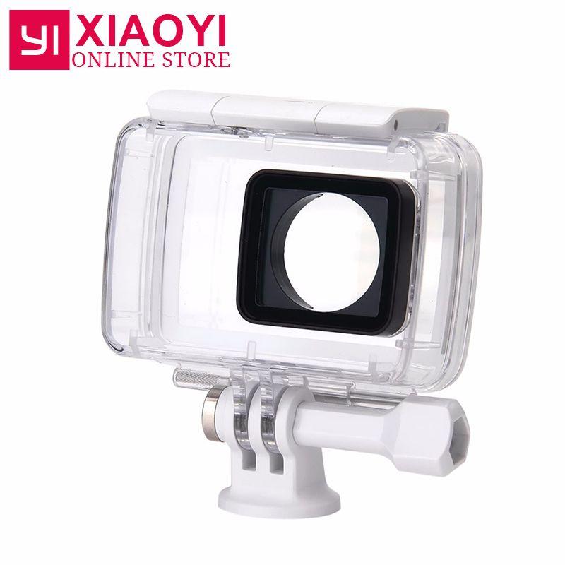100% Официальный оригинальной xiaoyi Yi 4 К действие Камера Водонепроницаемый чехол для xiaoyi Yi 4 К Action Sports Камера 2nd поколения