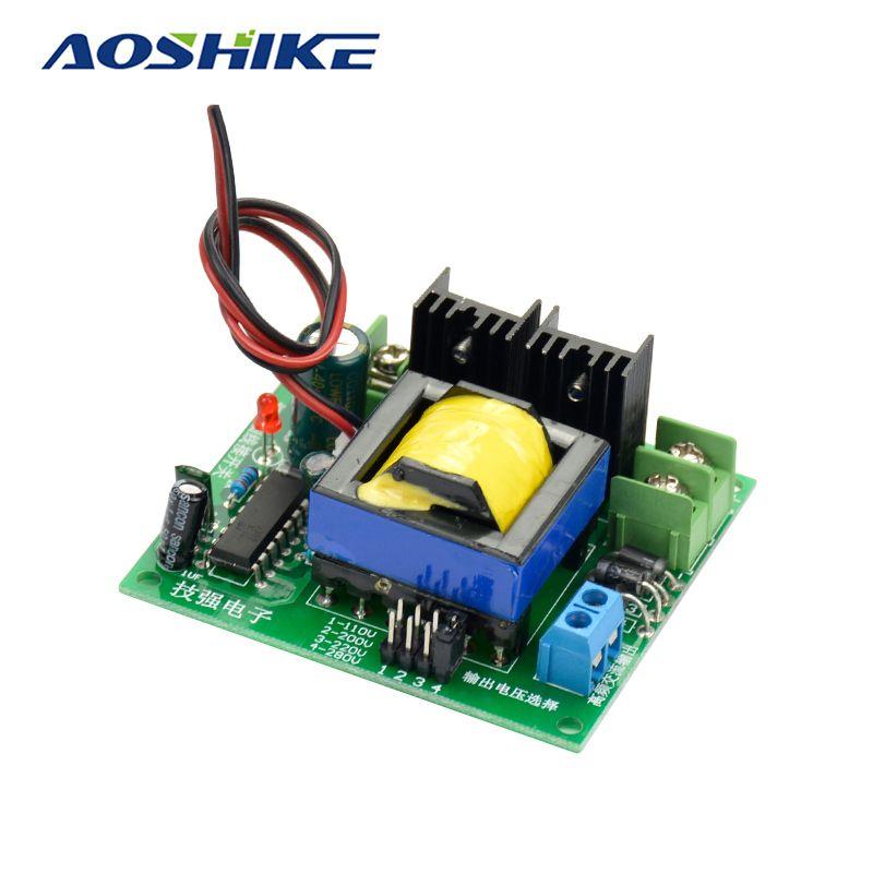 Aoshike DC-AC Convertisseur 12 V à 110 V 200 V 220 V 280 V AC 150 W Onduleur Boost Conseil transformateur de Puissance