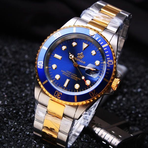 Hk Famous Luxury Brand Stainless Steel Strap Analog Display Date Men's Quartz Casual Clock Men Sports Watches relogio masculino