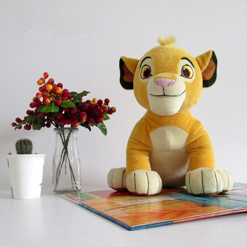 1pc 30cm nouveau bonne qualité mignon Simba le roi Lion jouets en peluche film Simba doux animaux en peluche poupée pour enfants cadeaux d'anniversaire