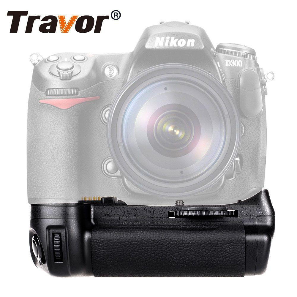 Travor Vertical Battery Grip holder for Nikon D300 D300S D700 DSLR Camera as MB-D10 work with EN-EL3e battery