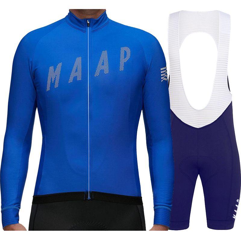 Manga larga maillot ciclismo Pro team 2018 automne manches longues maillot de cyclisme ensemble homme vélo vtt maillot bicicleta maillot ciclismo