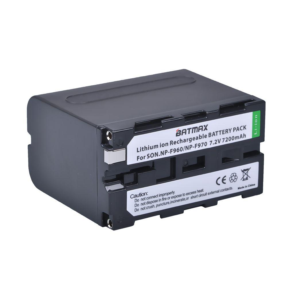 1 Pc NP-F970 F970 NPF970 NP-F960 Batterie pour Appareil Photo Sony F975 F970 F960 F950MC1500C 190 P 198 P F950 MC1000C TR516 TR555