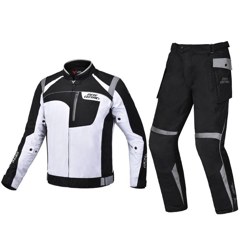MOTOCENTRIC Wasserdichte Jacke Motorrad Hosen Reiten Racing Schutz Getriebe Motocross Jacke Motorrad Schutz Ausrüstung