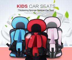 Nueva 0-12 años Portable del bebé del coche de seguridad asientos sillas para niños en el coche versión actualizada engrosamiento algodón niños asientos de coche