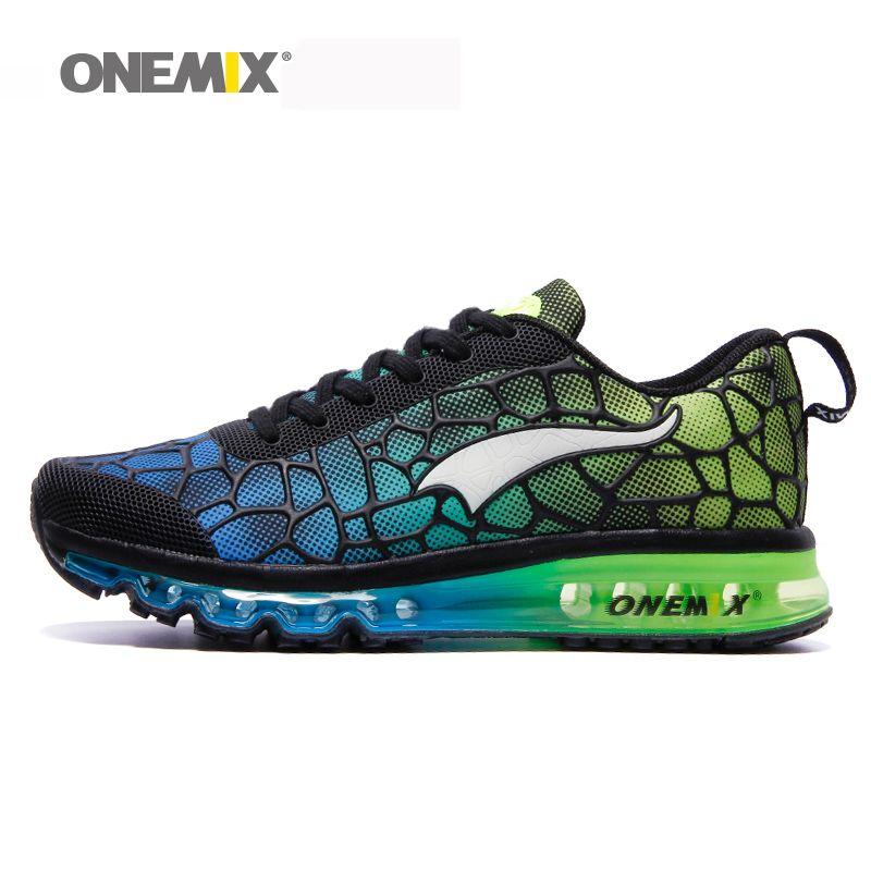Onemix Hommes de Chaussures de Course Respirant zapatillas hombre Sport En Plein Air Sneakers Lightweigh Chaussures de Marche Plus La Taille 39-47 sneakers