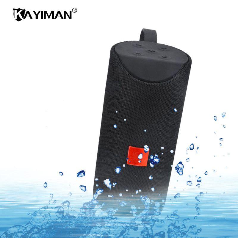 Neue Wasserdichte Bluetooth Lautsprecher Im Freien Fahrrad Portable Subwoofer Bass Drahtlose Lautsprecher Mini Spalte Box Lautsprecher FM