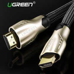 Ugreen HDMI Cable HDMI a HDMI 2,0 Cable 4 K para Xiaomi proyector Nintend Switch PS4 televisión LED TV xbox one 5 m Cable HDMI