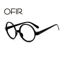 OFIR Klasik Retro Putaran Kacamata Bingkai Pria Wanita Bingkai Ala Lei Lucu Harry Potter Kacamata Tanpa Lensa A3-27