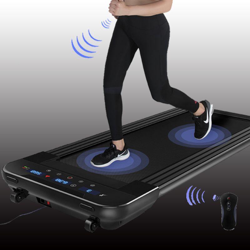 Schwarz Fernbedienung Elektrische Laufband Mini Elektrische Running Training Fitness Laufband Zu Hause Sport Stumm Fitness Ausrüstung