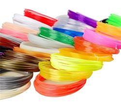 5 pièces (Min. ordre) 10 m 3d PLA Filament 1.75mm Matériel 3D Imprimante Pen Filament haute température glowing filment flament