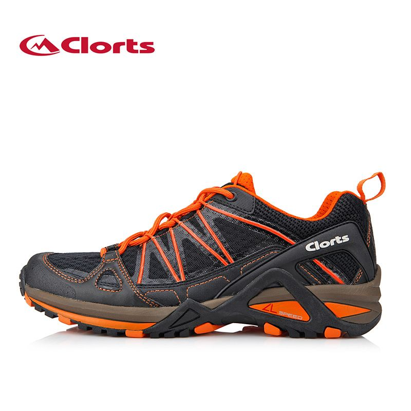 Clorts Men Running Shoes for Sport PU Mesh Trail Outdoor Shoes Breathable Runner Athletic Shoes Jogging Shoes 3F015A/B 3F016A/B