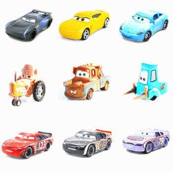Disney Pixar машина 3 Молния Маккуин Джексон Storm Крус Рамирез плесень 1:55 литья под давлением Металл гоночный модель автомобиля игрушечные лошадки...