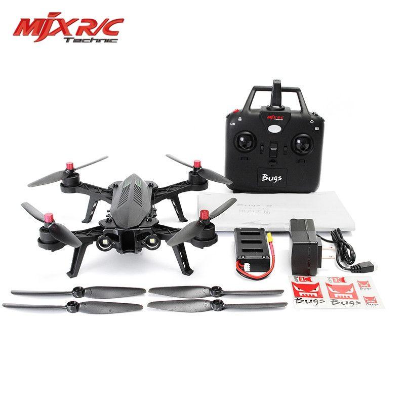 Auf Lager MJX Bugs 6 Brushless Motor C5830 Kamera 3D Roll Flip Racing 2,4G 4CH FPV Quadcopter RC Drone Spielzeug RTF VS Bugs 3 8