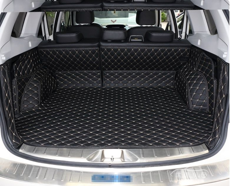 High quality! Special trunk mats for Subaru Forester 2018-2013 durable cargo liner boot carpets for Forester 2017,Free shipping