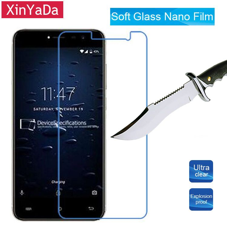 Xinyada Soft Nano Explosion proof Screen Protector For Cubot Note Plus 5.2'' Protective Guard Lcd Film ( Not Tempered Glass )