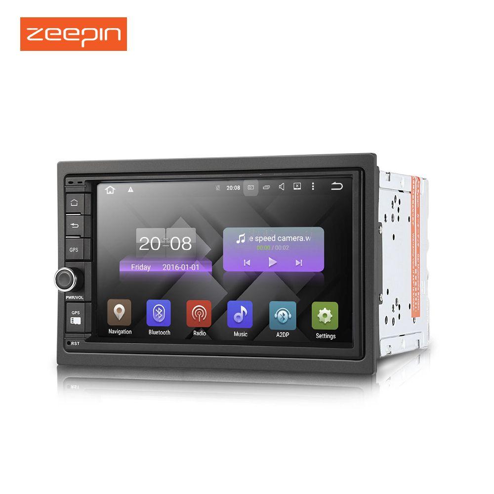 Zeepin universal Car Radio DY7003 Android 6.0 Double Din Car Multimedia Player Radio Audio GPS Navigation Car DVD player
