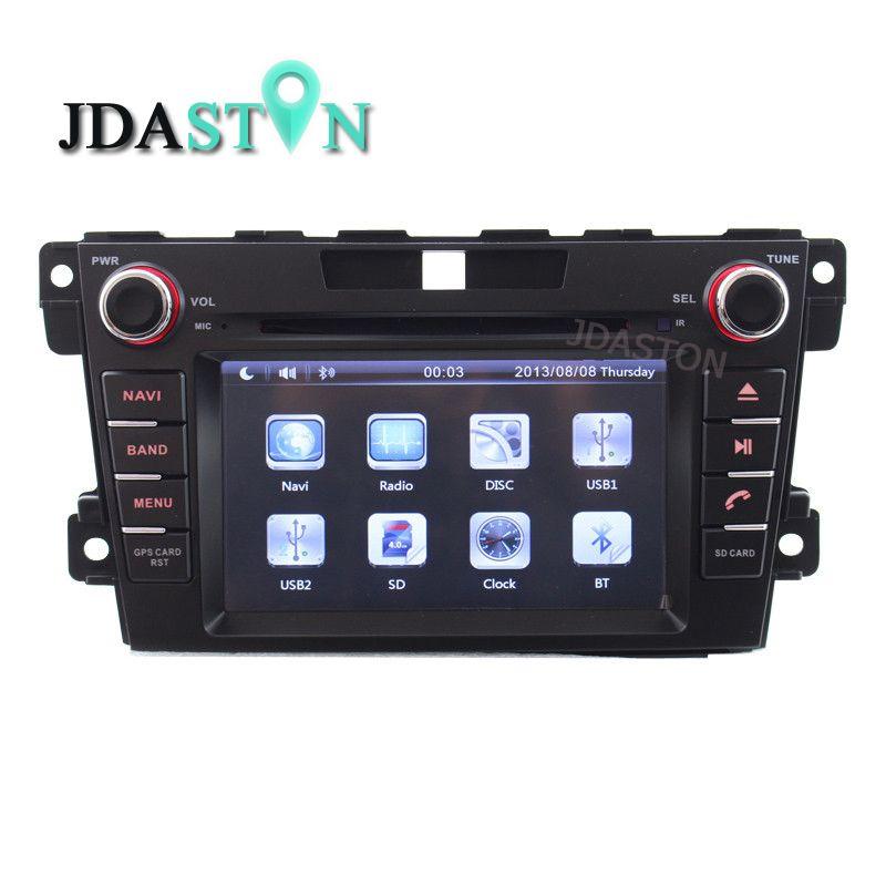 JDASTON 2 Din In-Dash AUTO DVD Player Für Mazda CX7 CX 7 CX-7 2007-2013 Mit GPS navigation Ipod RDS AM FM Freies Karte Canbus SWC