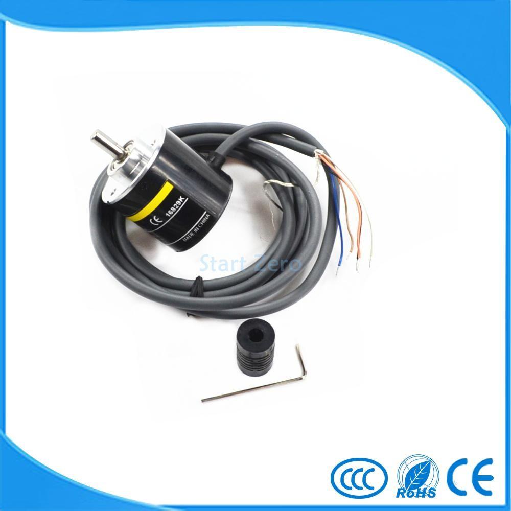 E6B2CWZ5B OMRON ABZ 3-phase Rotary Encoder E6B2-CWZ5B 2500 2000 1800 1024 1000 600 500 400 360 200 100 60 40 30 20P/R DC12-24V