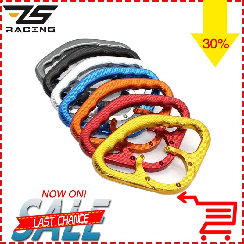 ZS-Racing Motorcycle Front Tank Handrails Rear Seat Armrest Drop Resistance Safety Handle Easy Install For Kawasaki Z800 Z1000