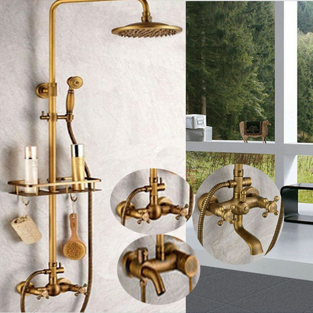 Uythner Wholesale And Retail Promotion Bathroom Faucet Antique Brass 8