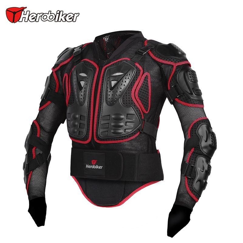 Herobiker Motorcycle Body Guard Motorcycle Racing Protective Armor Jacket Motorcycle Full Body Armor Protector Motor Jacket