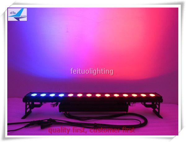4 xlot led-streifen rgb 110 v outdoor-led-leuchten wall washer 14x30 watt rgb 3in1 cob dmx wall washer rgb