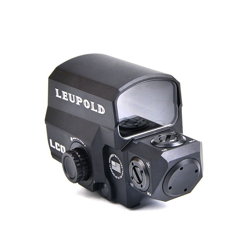 Dropshipping LEUPOLD LCO <font><b>Tactical</b></font> Red Dot Sight Rifle Scope Hunting Scopes Reflex Sight With 20mm Rail Mount Holographic Sight