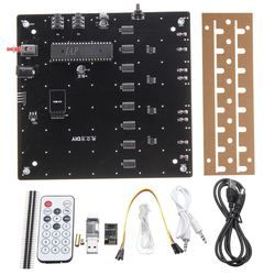 LEORY DIY 3D LED Light Cube Kit Wi-Fi Connected APP Control 8x8X8 512 LED Display Equipment MP3 DAC Circuit Music Spectrum