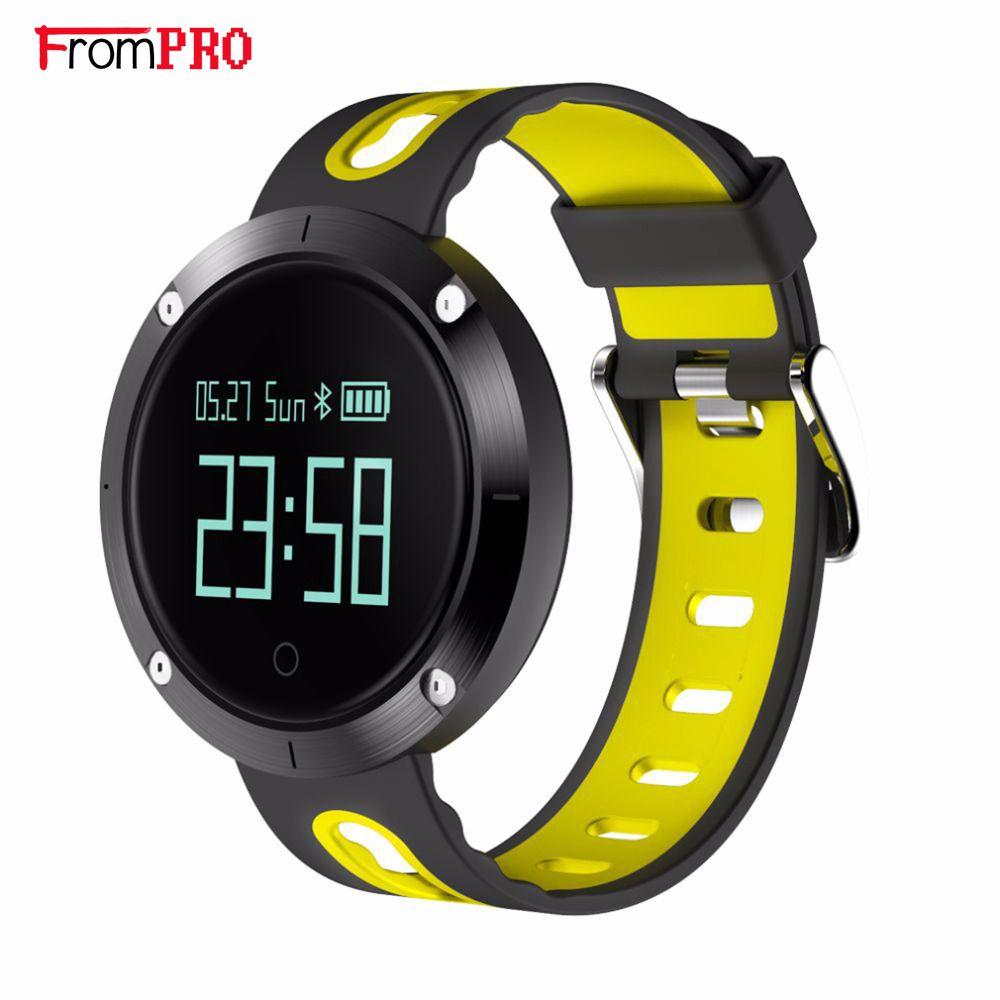 DM58 Bluetooth 4.0 Smart Bracelet Blood Pressure Heart Rate Monitor IP68 waterproof Call reminder Activity Tracker Smart Band